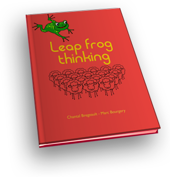 Leap frog thinking book